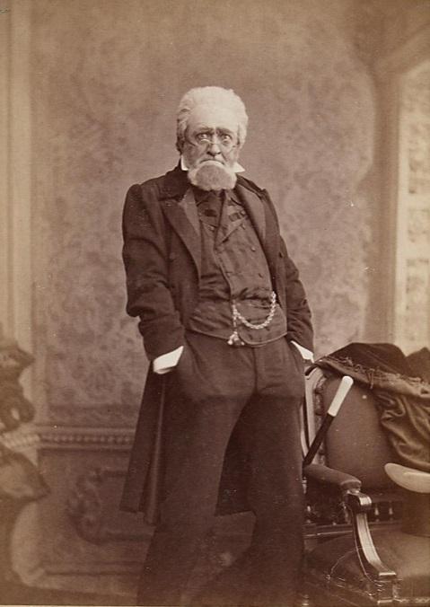 """Felix Schweighofer as Luther in """"Defizit,"""" 1885. (Photo: Rudolf Krziwanek / Theatermuseum Wien)"""
