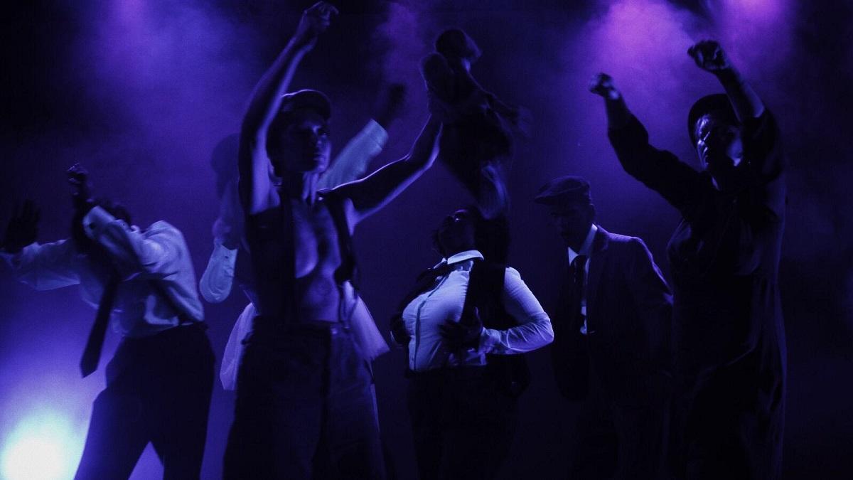 "The grand finale of ""Lila Lied"" at SchwuZ. (Photo: Callum Leo Hughes)"