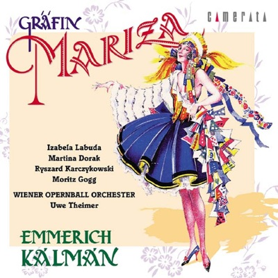 """The """"Gräfin Mariza"""" recording conducted by Uwe Theimer."""