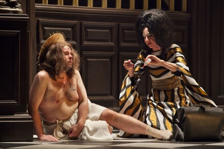 """Ersan Mondtag's Over-The-Top Gay Production Of """"Der Silbersee"""""""