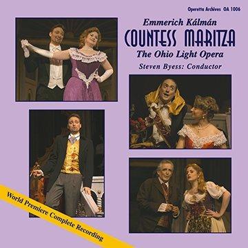 "The ""Countess Maritza"" recording from Wooster. (Photo: Ohio Light Opera)"
